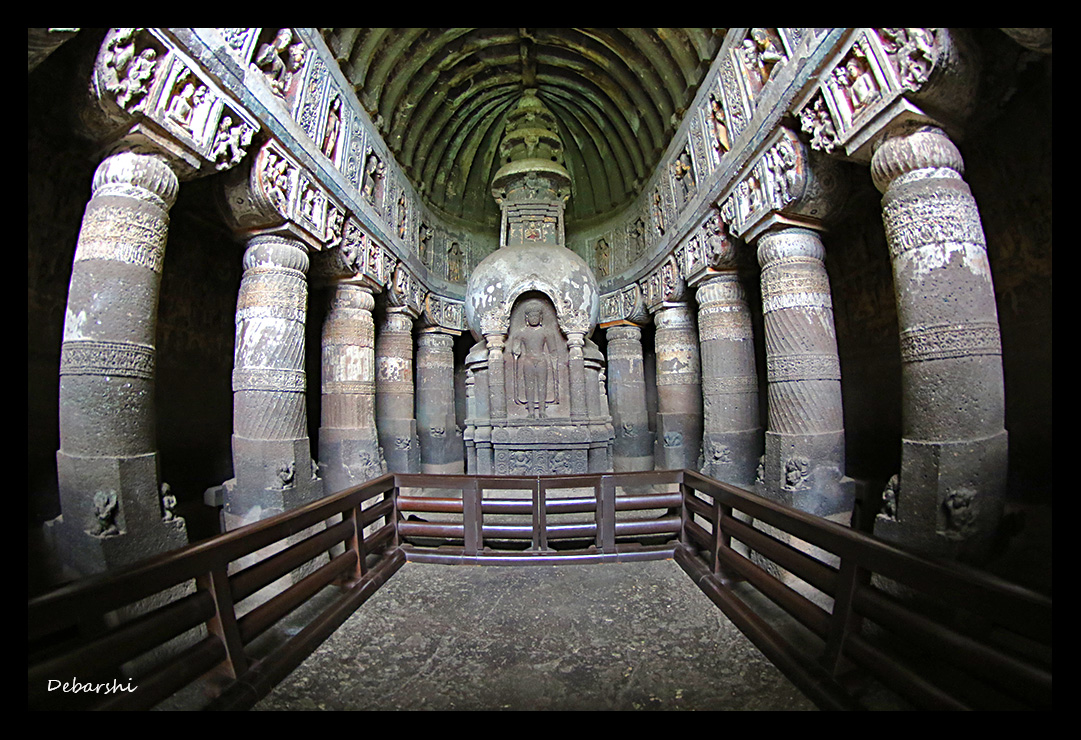 Ajanta Caves Prayer Hall