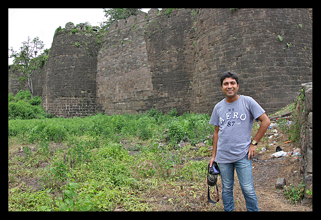 Daulatabad Fort Wall