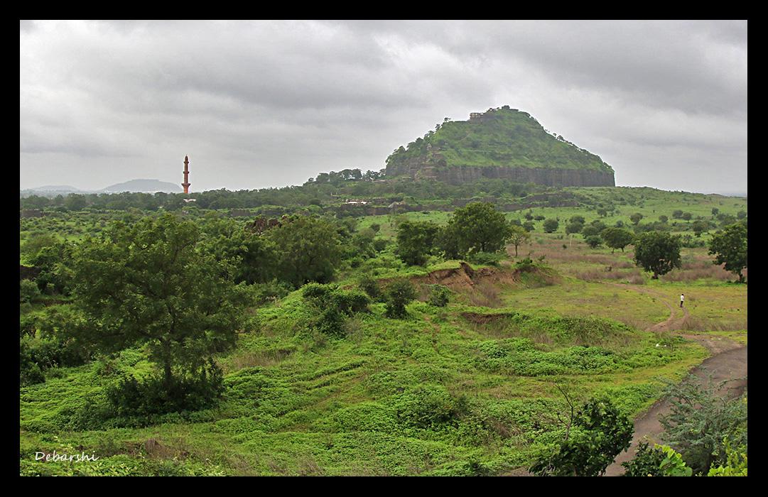 Daulatabad Fort landscape