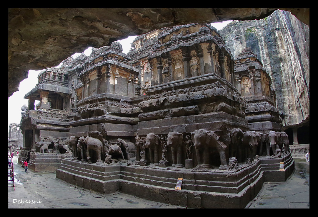 Ellora Caves Kailash Temple Travel Chronicles