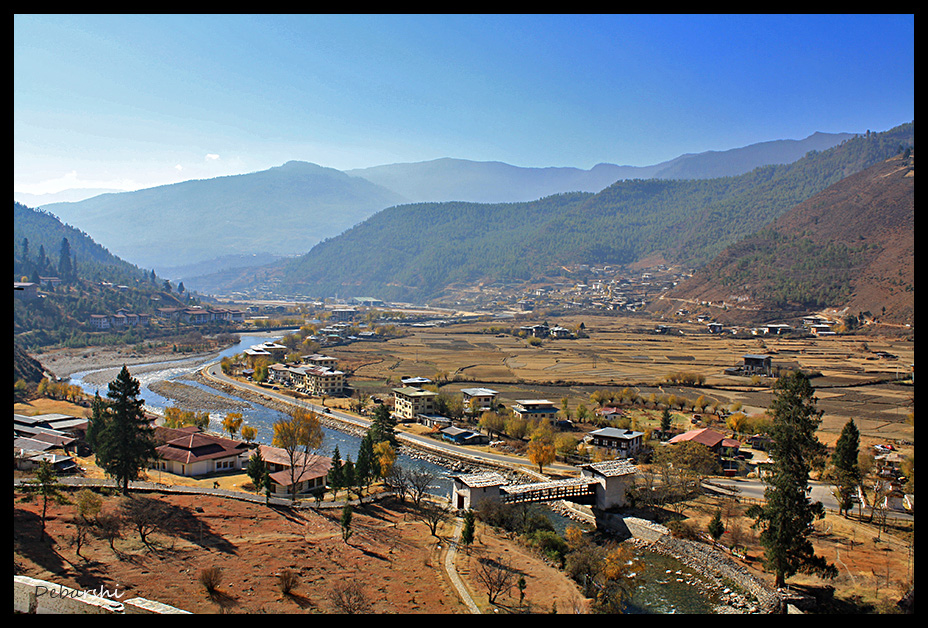 Paro Bridge near the Dzong