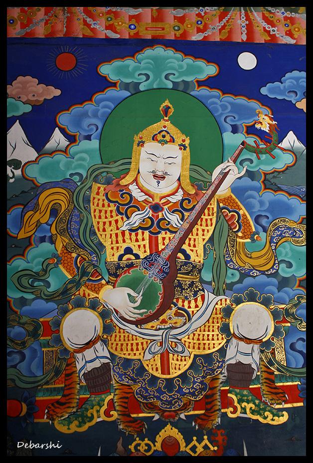 Paro Dzong Fresco