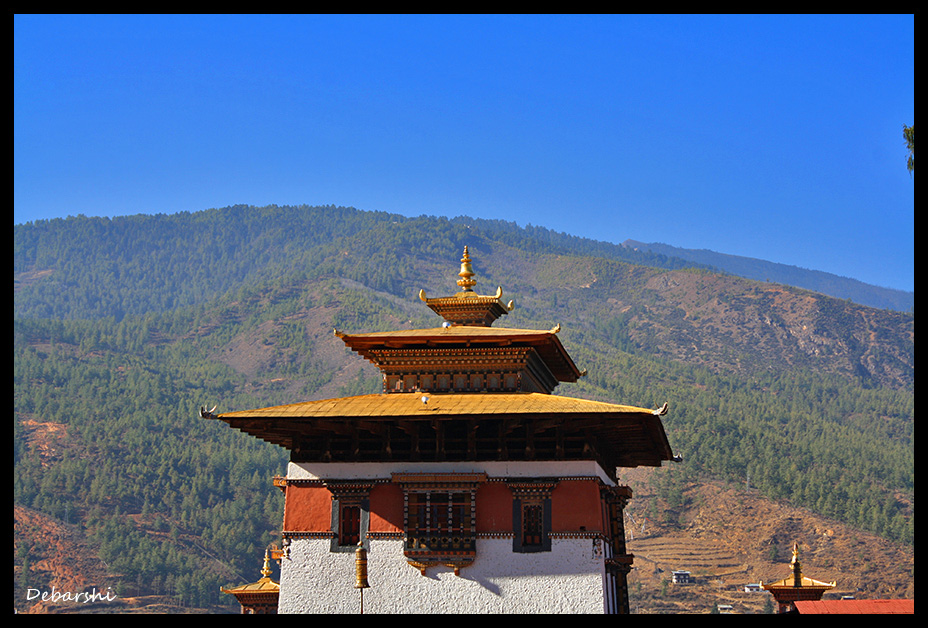 Rinpung Dzong also known as Paro Dzong