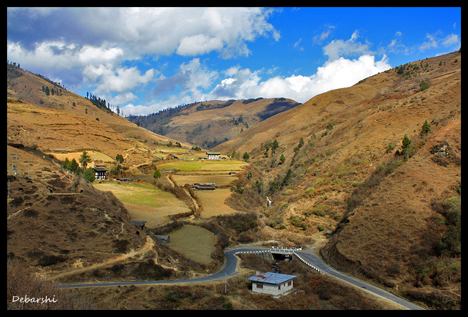 Picturesque Rural Bhutan