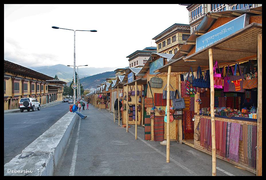 Thimphu Handicraft Market