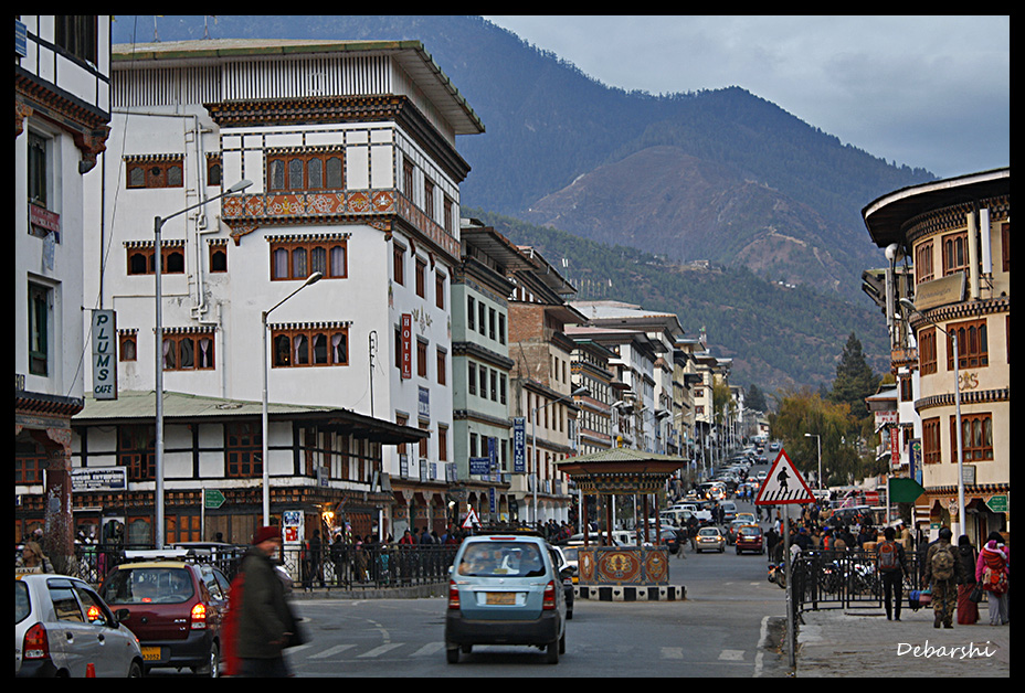 Thimphu Road crossing