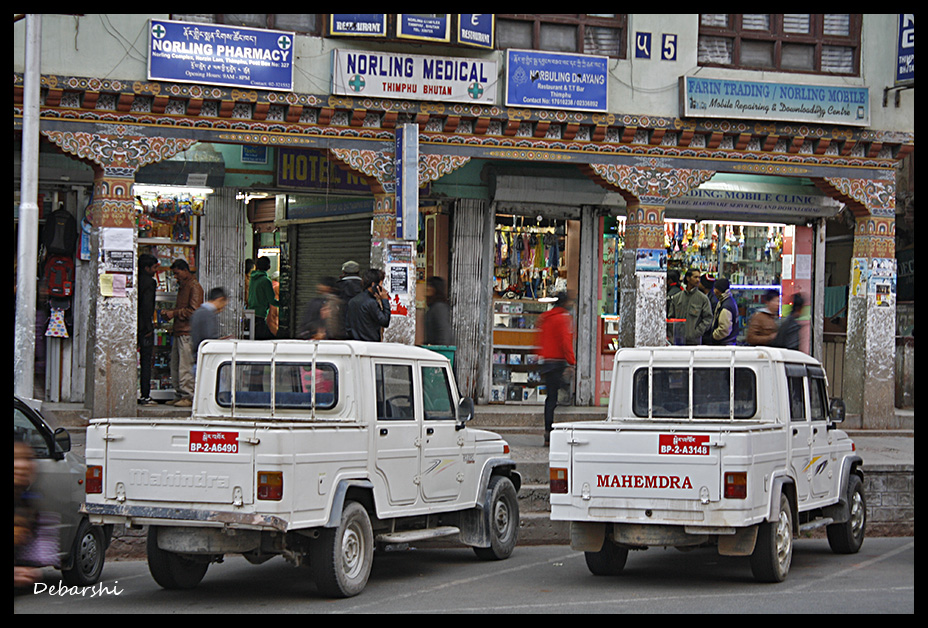 Mahindra commercial vehicles in Thimphu