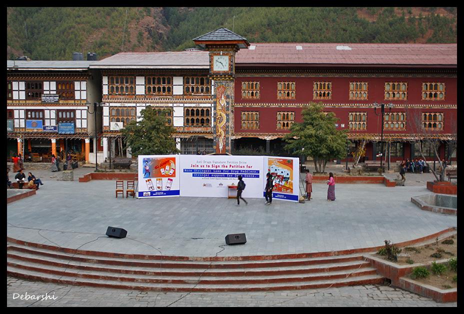Thimphu Town Square