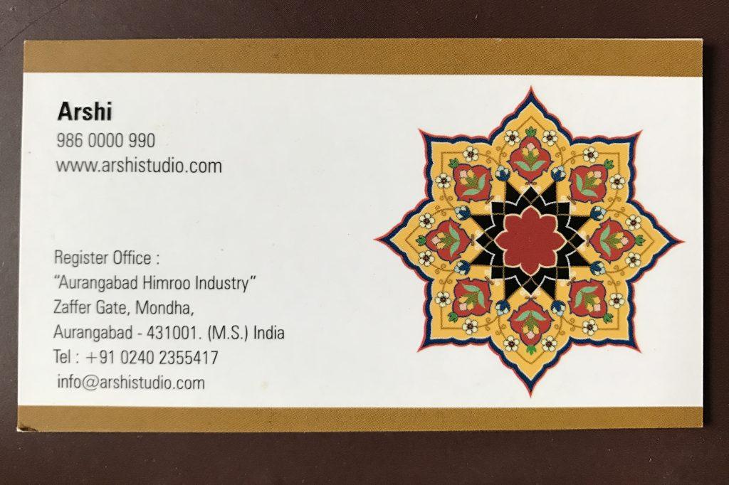 Arshi Studio Himroo Fabrics Aurangabad
