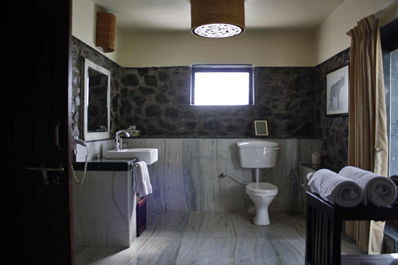 Large Bathrooms at Blackbuck Lodge Villas