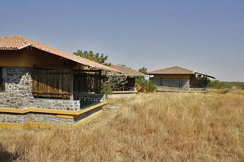 The villas at Blackbuck Lodge