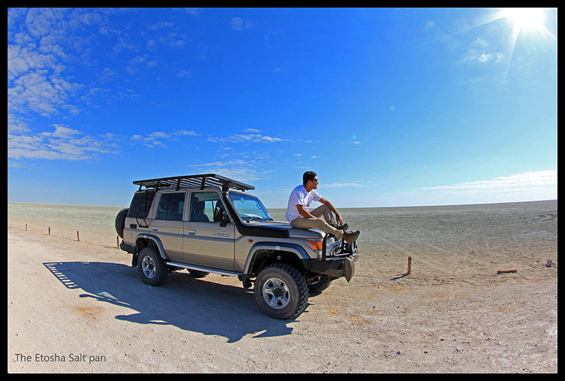 Self drive through Etosha National Park
