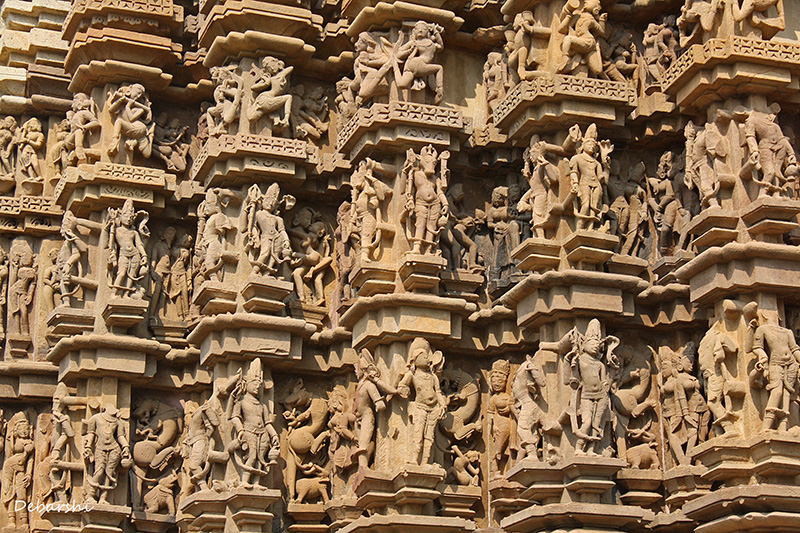 Khajuraho Temple Sculptures - Duladeo Temple