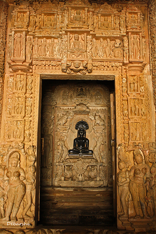 Khajuraho Temple Sculptures - Parshvanath