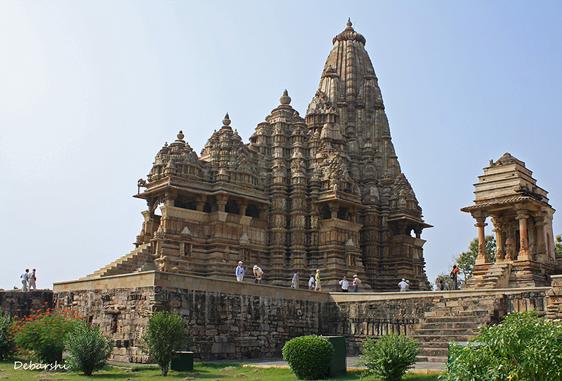 Khajuraho Temple Sculptures - DEVI JAGADAMBI TEMPLE