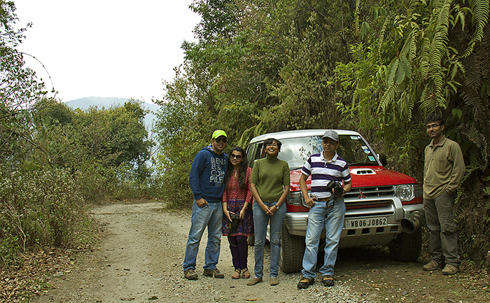 Road Trips in India, the team at Neora valley