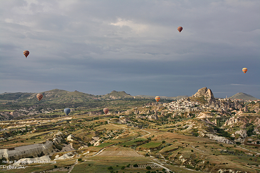 Hot air Balloon Safaris Cappadocia Turkey