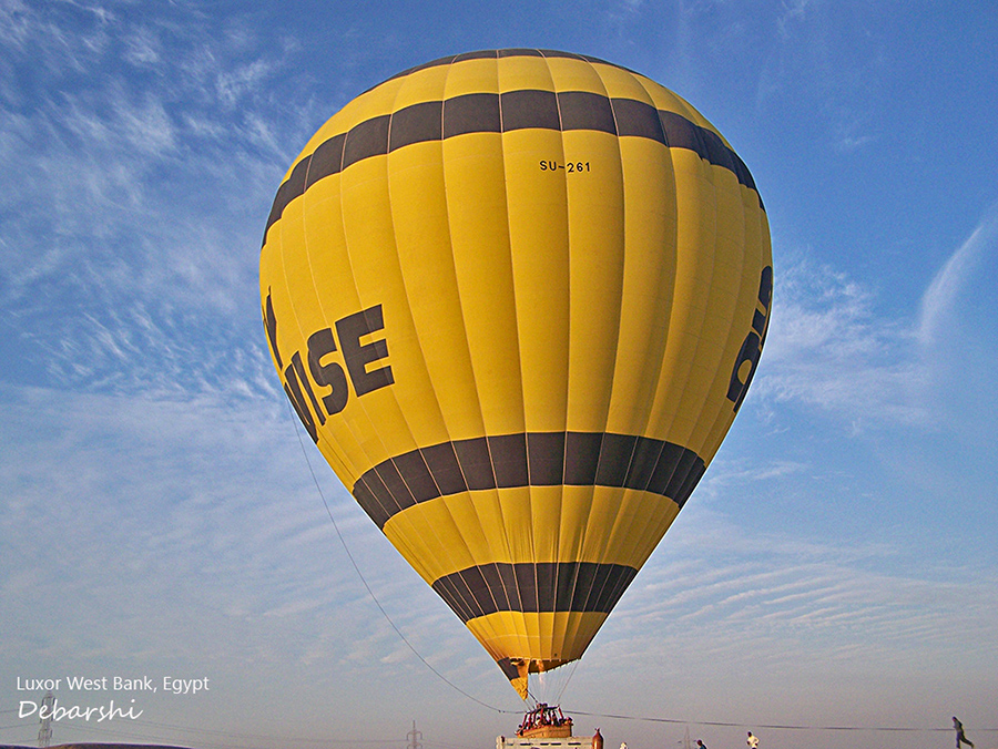 Hot air Balloon Safaris Egypt