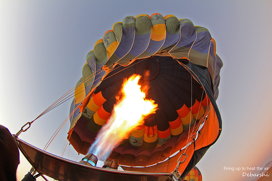 Hot air Balloon Safaris Namibia