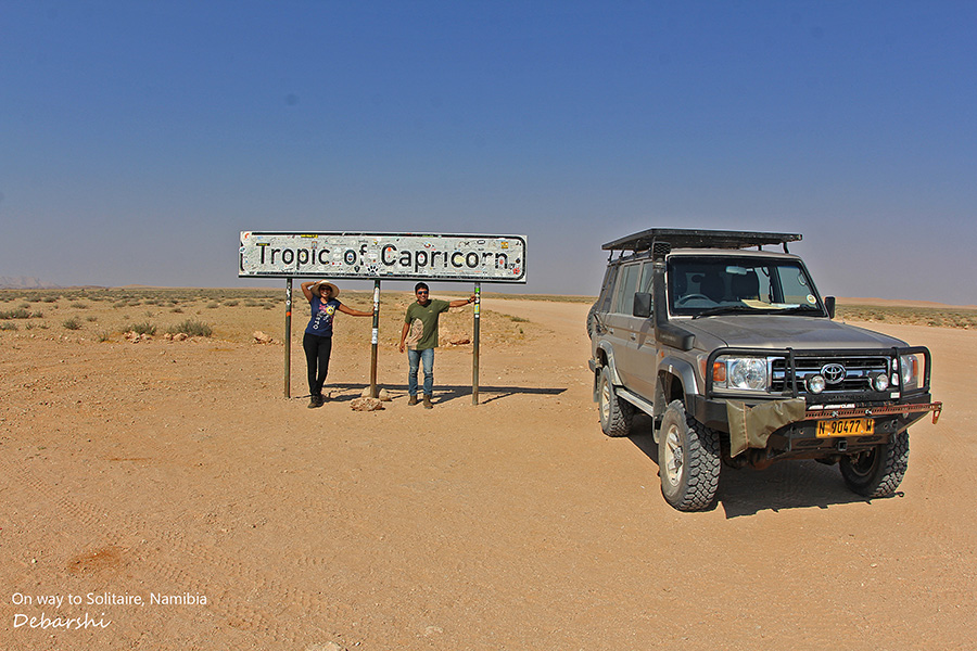 Solitaire Namibia Tropic of Capricorn