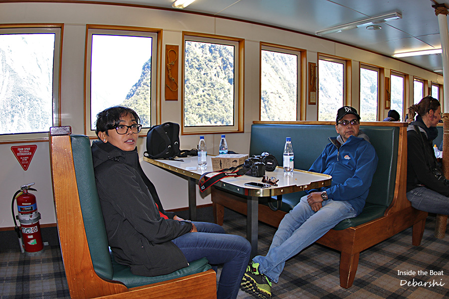 Milford Sound Boat