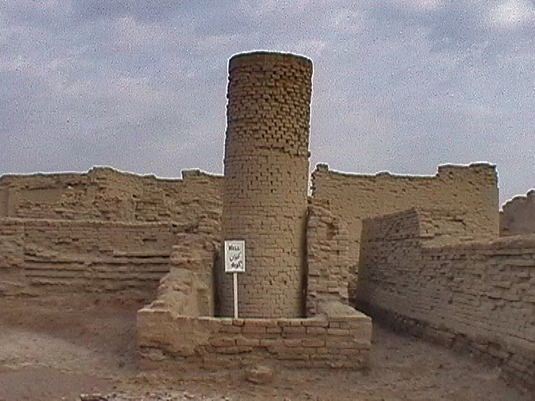 A visit to Mohenjo daro Wells