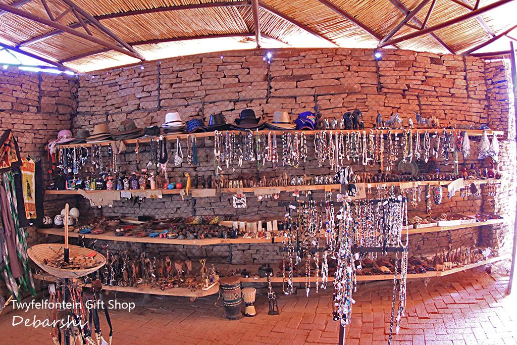 Gift shop in Twyfelfontein