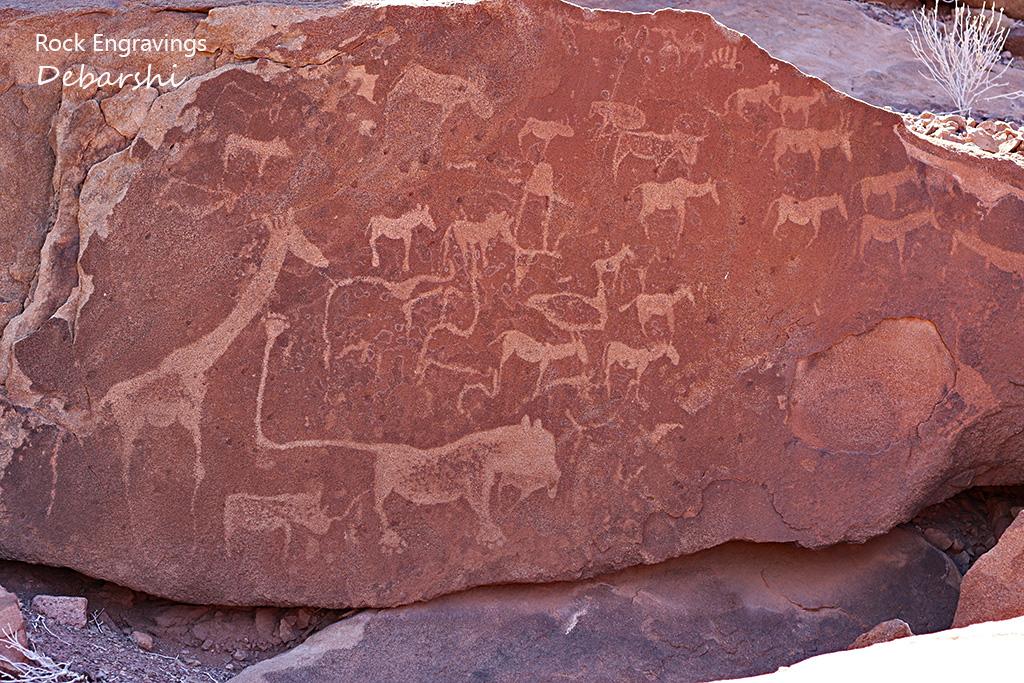 Lion Man Twyfelfontein Rock Engravings
