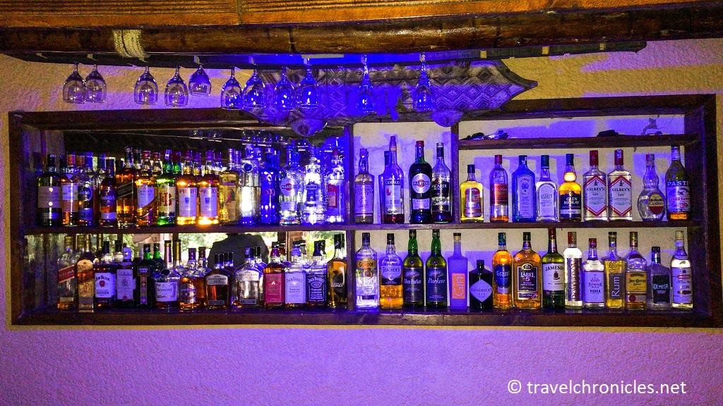The Bar was really the high point in Peakspot Kinigi !