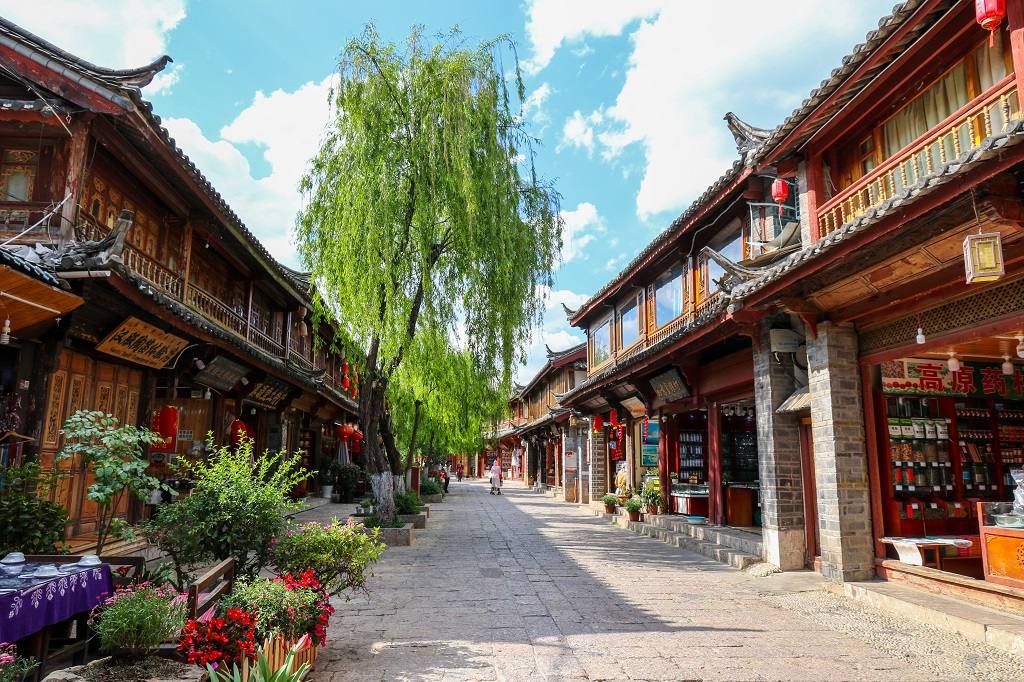 Shops on Lijiang Street