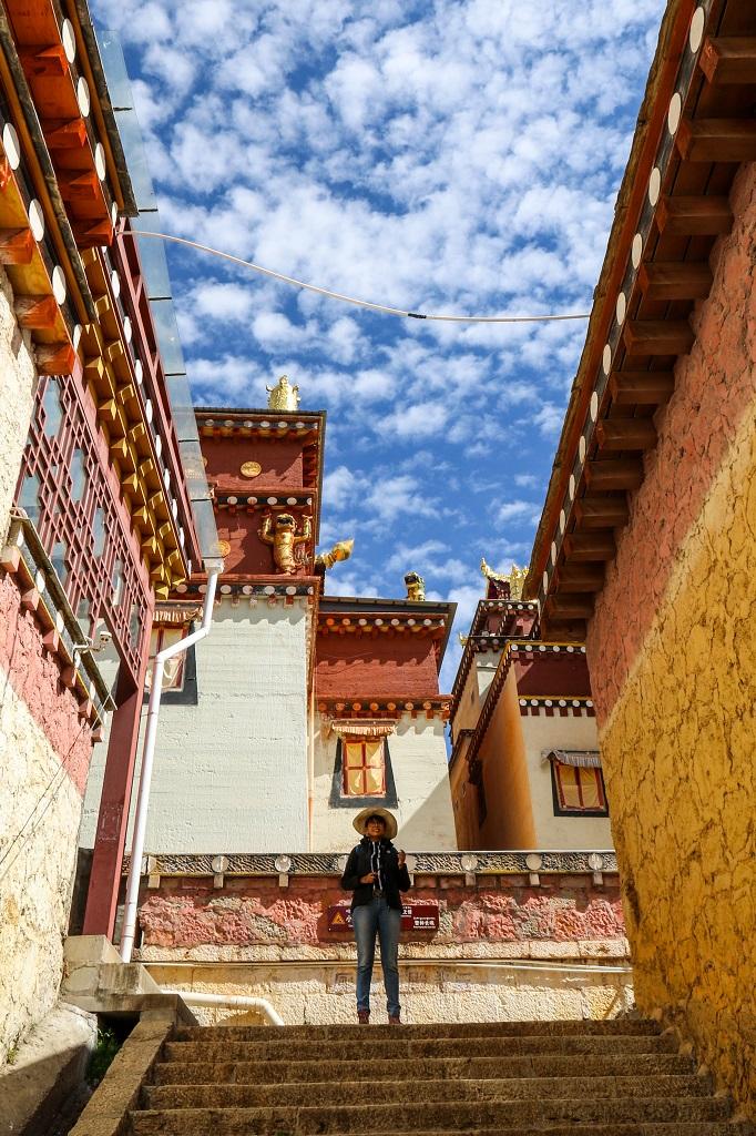 Inside Ganden Sumtseling Monastery