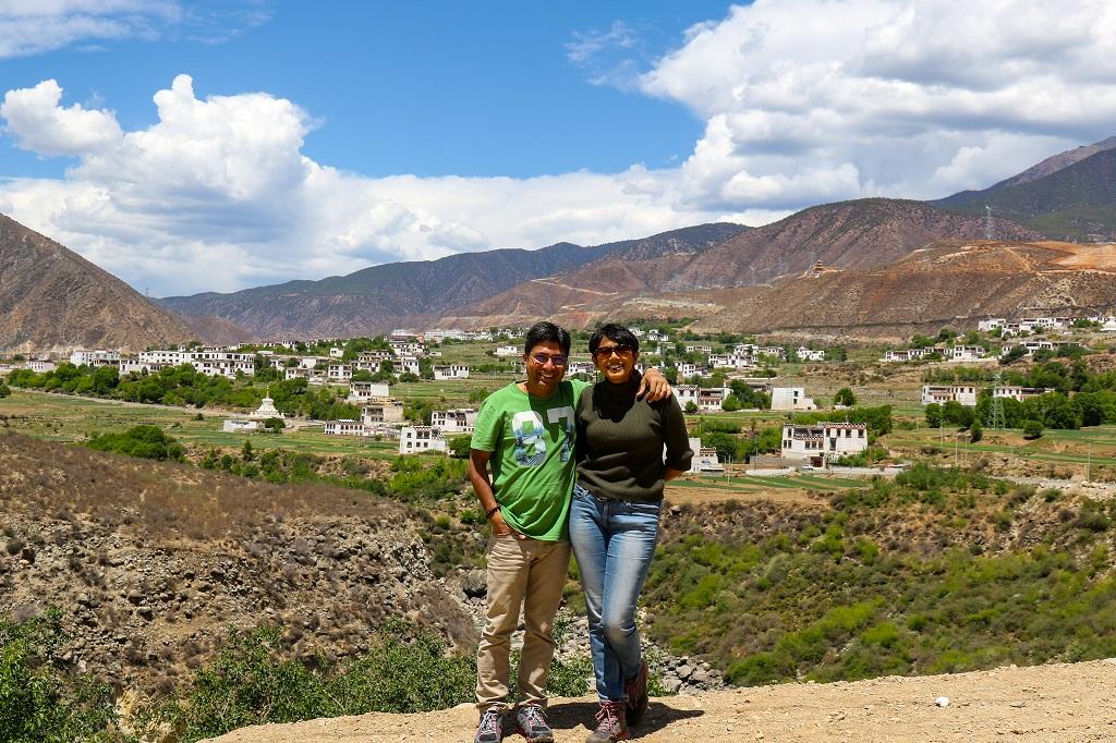 Qingde village on way from Shangrila to Xiangcheng