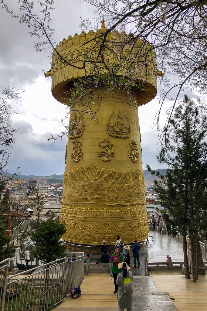Zhuangjin Tong Prayer Wheel at Shangri La