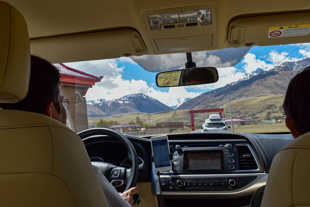 Debarshi and Chandrima in the road to Manigange