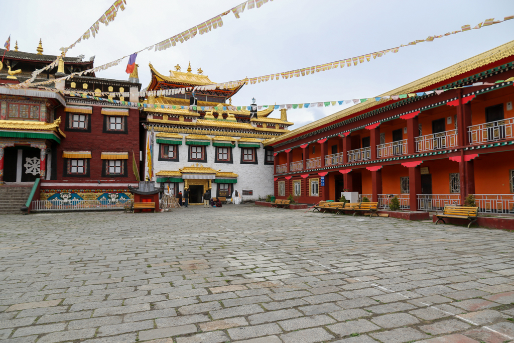 The Tagong Monastery with the Monastic offices