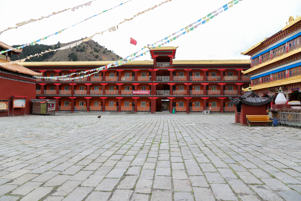 The Tagong Monastery quarters