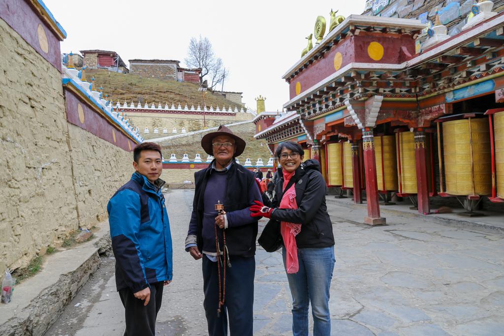 The monastery at Muya Village