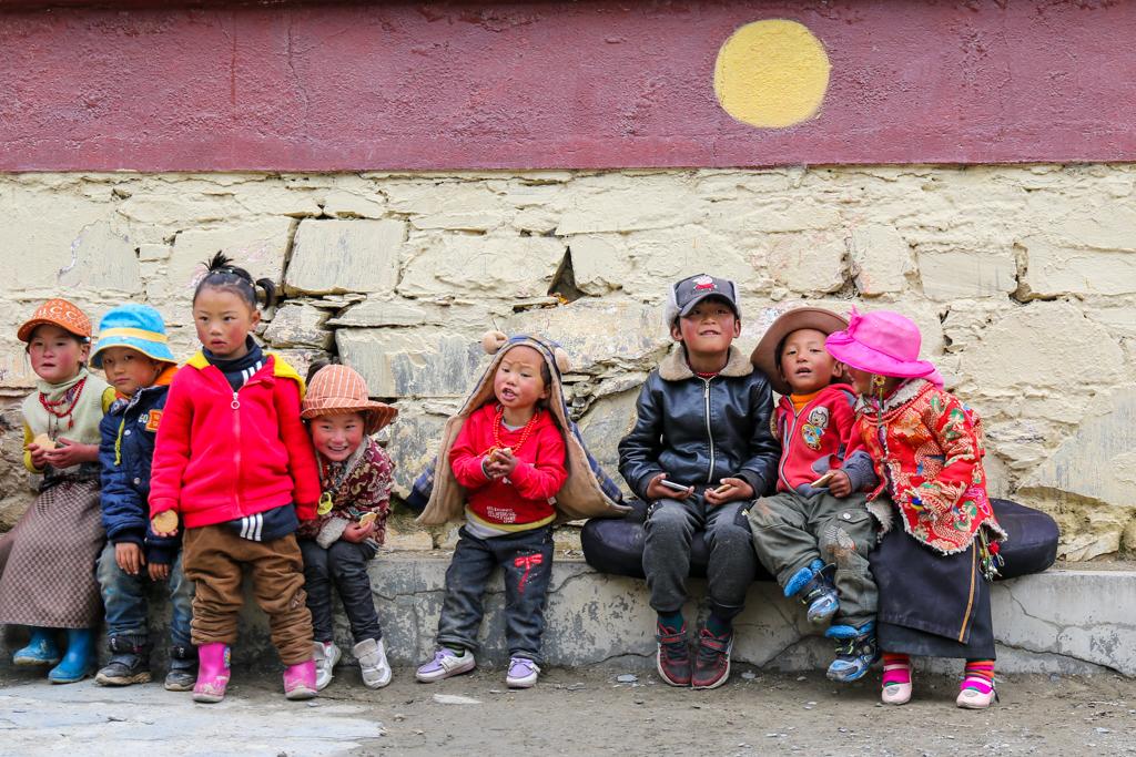 Children at Muya Village