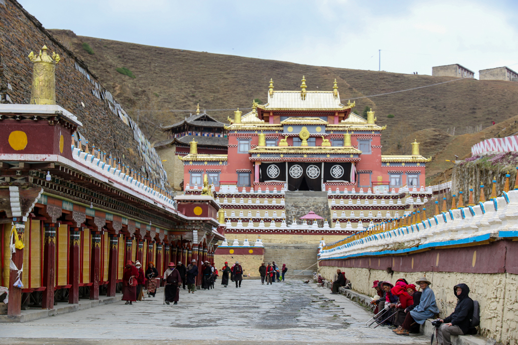 The monastery at Muya village