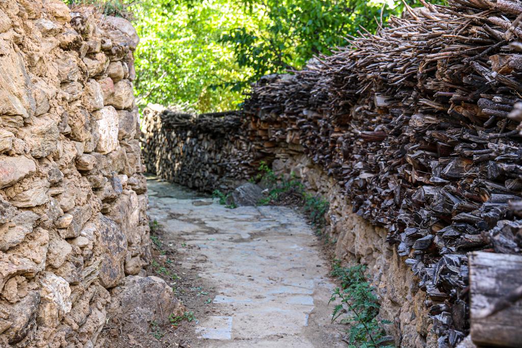 Jiaju village pathway