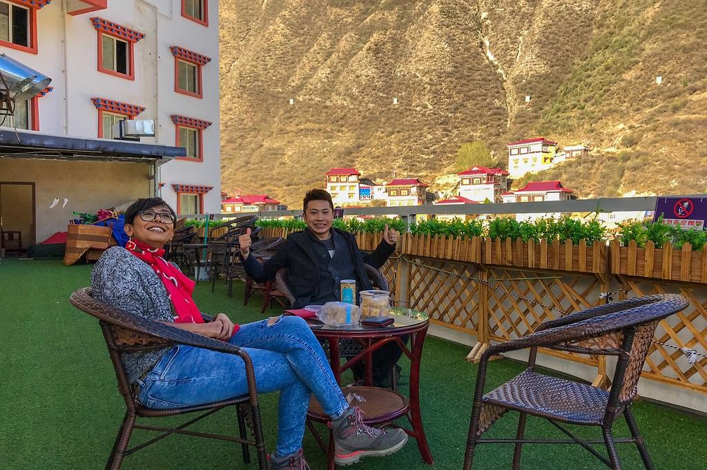 We stayed at Danxia hotel at Xinlong