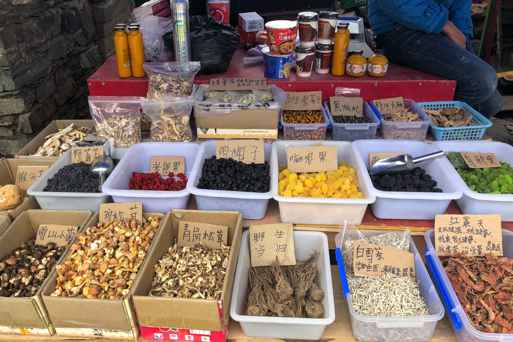 Spice shop at Siguniang Town