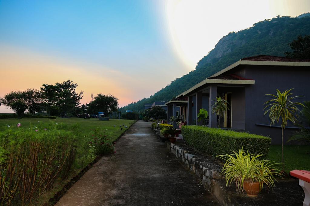 Twilight at Khairabera Eco Adventure Resort