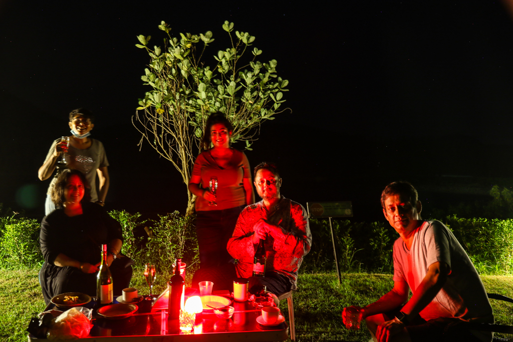 The evening adda at Khairabera eco adventure resort