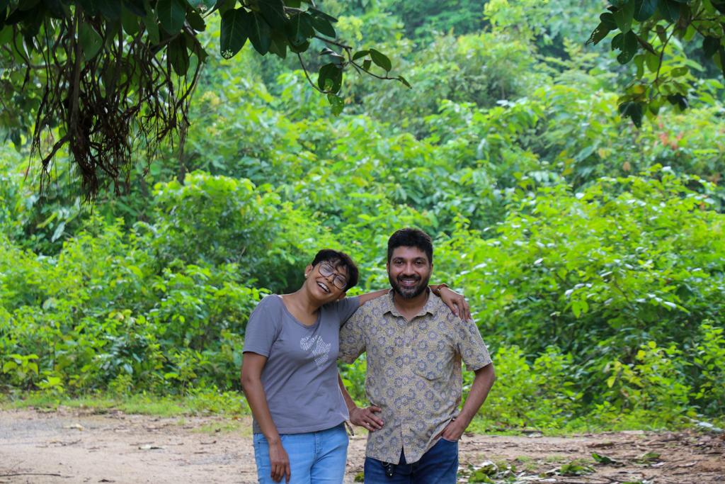 Chandrima and Debarshi trek on Ayodhya Hills Purulia