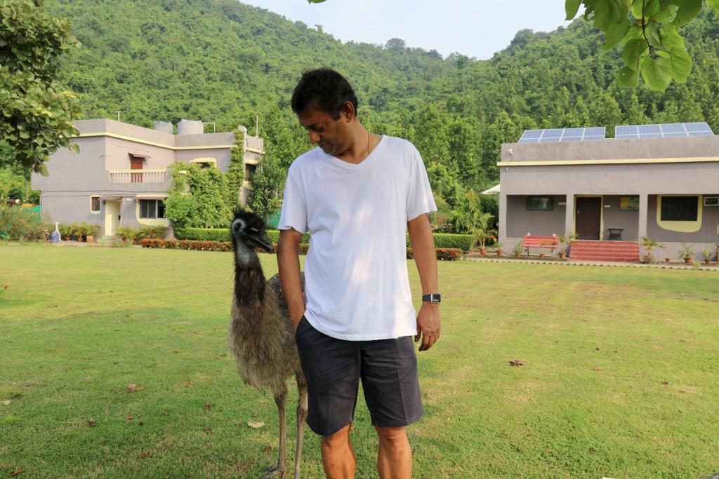 Khairabera emu develops fondness for Rana