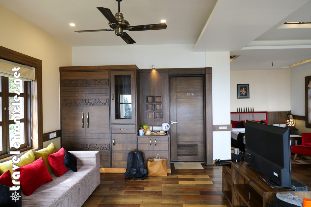 The suite at Chamong Chiabari